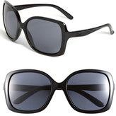 Oakley Women's 'Beckon(TM)' 60Mm Sunglasses - Black