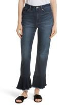 Rebecca Taylor Women's Ruffle Hem Jeans