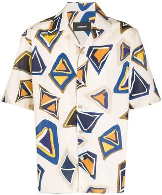 Costumein Geometric Print Shortsleeved Shirt