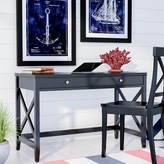 Beachcrest Home Thomaston Wood Desk Color: Black