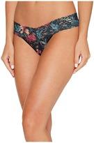 Hanky Panky Moody Blooms Low Rise Thong Women's Underwear