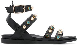 Carvela Kingston stud-embellished sandals