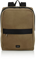 Jack Spade Men's Boxy Backpack-DARK GREEN