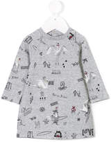 Little Marc Jacobs swan print dress