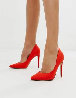 Miss KG pointed court shoes-Orange