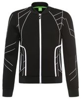 Hugo Boss Sharrell Cotton Nylon Zip Jacket L Black