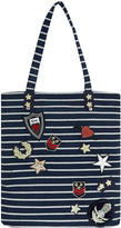 Accessorize Military Badge Shopper Bag