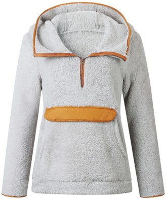 Goodnight Macaroon 'Josephine' Hooded Fleece Pullover (3 Colors)