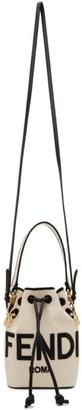 Fendi Beige Mini King Mon Tresor Bucket Bag