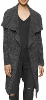 Calvin Klein Boucle Open-Front Cardigan