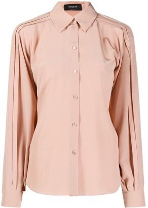 Rochas Pleat-Details Loose Shirt