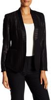 Anne Klein Pintstripe Tuxedo Jacket