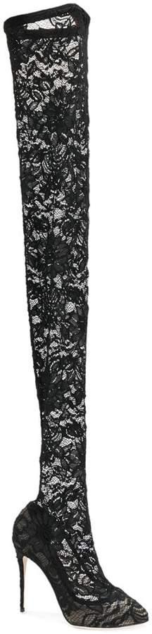 Dolce & Gabbana Coco thigh-high boots
