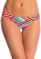 Red Carter Mediterranean Vacation Reversible Cali Hipster Bikini Bottom 8145699