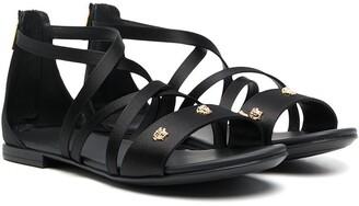 Versace TEEN Medusa-stud sandals