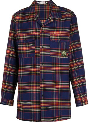 McQ Sublime checked shirt
