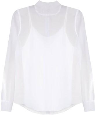 Uma   Raquel Davidowicz Cina turtle neck silk blouse
