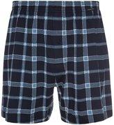 Schiesser Boxer Shorts Blau