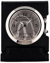 Cartier Travel Alarm Clock