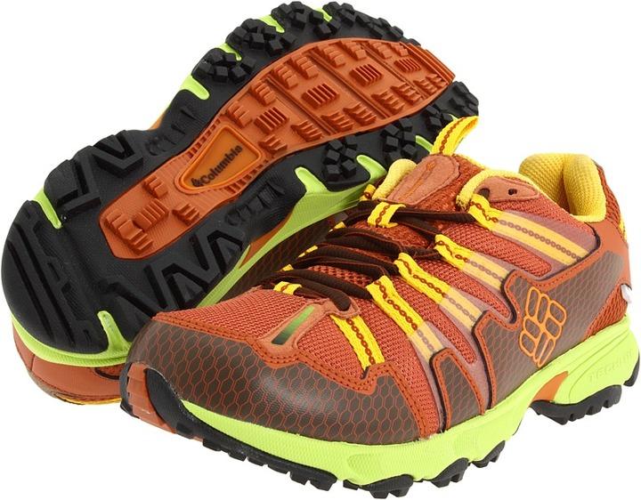 Columbia Talus Ridge OutDry (Bombay Brown/Lime Green) - Footwear