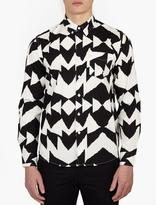 Saturdays Surf NYC Mirror Patterned 'Crosby' Shirt