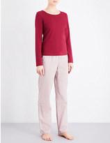 Calvin Klein Jersey pyjama set in drawstring bag