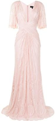 Tadashi Shoji Orino floral lace gown