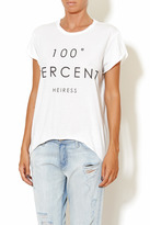 The Laundry Room 100% Heiress Tee