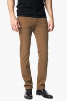7 For All Mankind Luxe Performance Colored Denim: Slimmy Slim Straight In Cognac