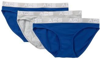 Aqs Stretch Cotton Bikini - Pack of 3
