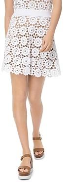 MICHAEL Michael Kors Medallion Pattern Lace Mini Skirt