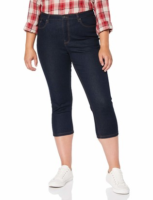 Simply Be Women's Ladies Crop Jeans Straight