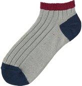 Uniqlo Women Short Socks (Color Block)