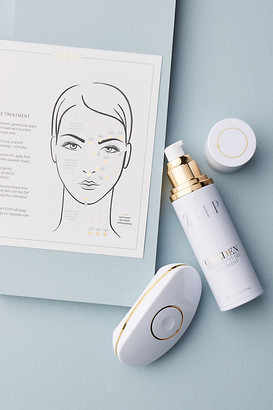 ZIIP BEAUTY Device With Golden Conductive Gel By in White Size ALL