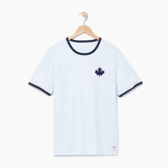 Roots Mens Canada Cabin Ringer T-shirt
