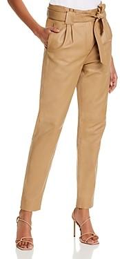 Just Female Sago Leather Pants