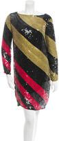 Sonia Rykiel Long Sleeve Sequined Dress w/ Tags