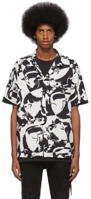 Ksubi Black and White Klub Rat Shirt