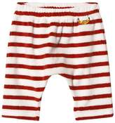 Bobo Choses Buttercream Stripe Banana Baggy Trousers