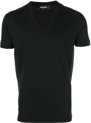 DSQUARED2 basic v neck T-shirt