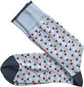 Johnston & Murphy Hearts Socks