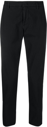Dondup Cropped Straight Leg Chinos