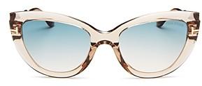 Tom Ford Women's Anya Cat Eye Sunglasses, 55mm