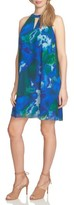 CeCe Women's Watercolor Print Shift Dress