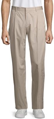 HUGO Paton Pleated Cotton Pants