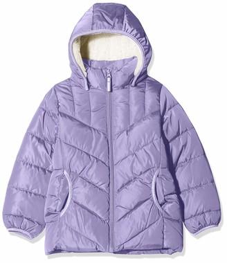 Name It Girl's Nkfmus Puffer Jacket Camp
