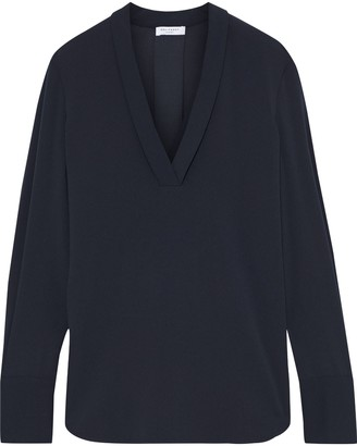Equipment Charlina Stretch-crepe Blouse