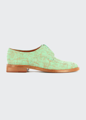 Clergerie Rayane Bicolor Laceless Derby Loafers