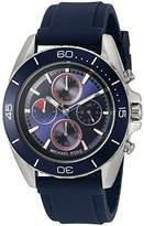 Michael Kors Men's Jetmaster Silver-Tone Watch MK8486