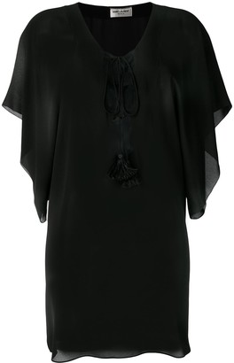 Saint Laurent Beach Cover-Up